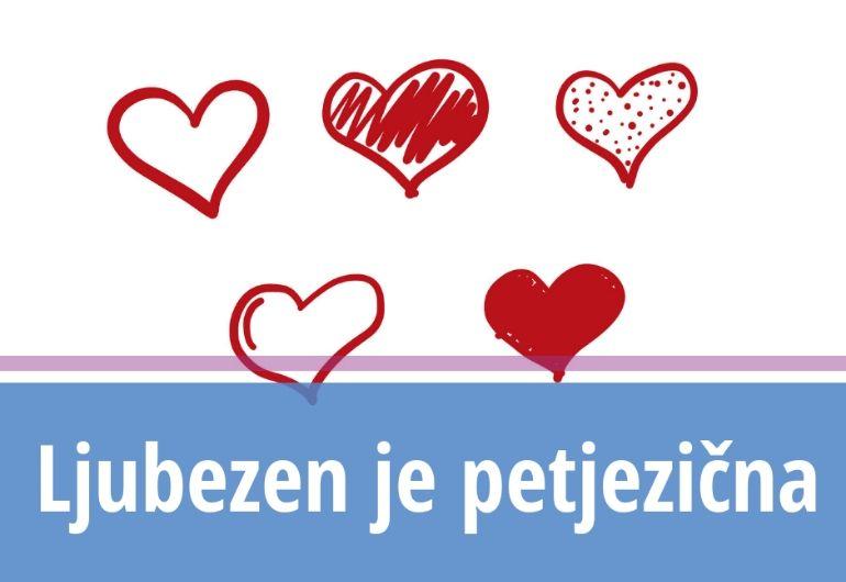 Ljubezen je petjezična